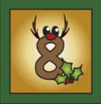 Kartenlegen Adventskalender Tuer 8