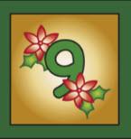 Kartenlegen Adventskalender Tuer 9