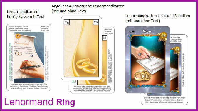 Lenormand Ring - Kartendeck