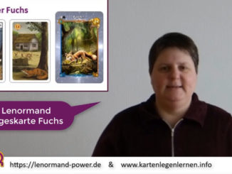 Lenormand Tageskarte Fuchs