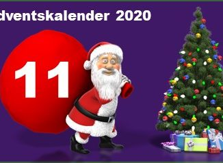 Adventskalendertuer 11 in 2020