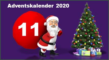 Adventskalendertuer 11 in 2020