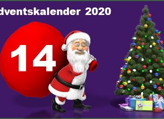 Adventskalendertuer 14 in 2020