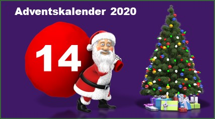 Adventskalendertuer 14 in 2020