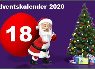 Adventskalendertuer 18 in 2020