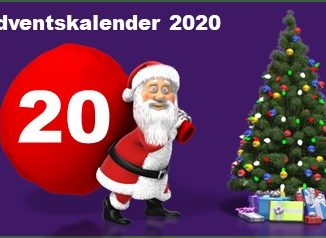 Adventskalendertuer 20 in 2020