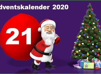 Adventskalendertuer 21 in 2020