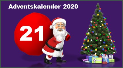 Adventskalendertuer 21 in 2020
