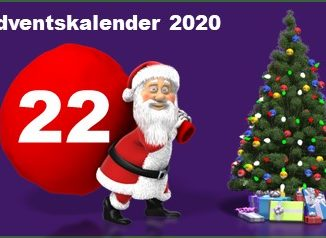 Adventskalendertuer 22 in 2020