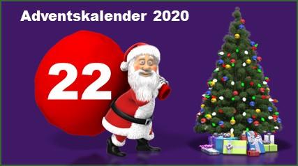 Adventskalendertuer 22 in 2020