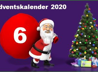 Adventskalendertuer 6 in 2020