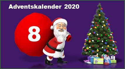 Adventskalendertuer 8 in 2020