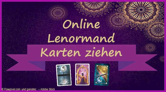 Online Lenormandkarten ziehen